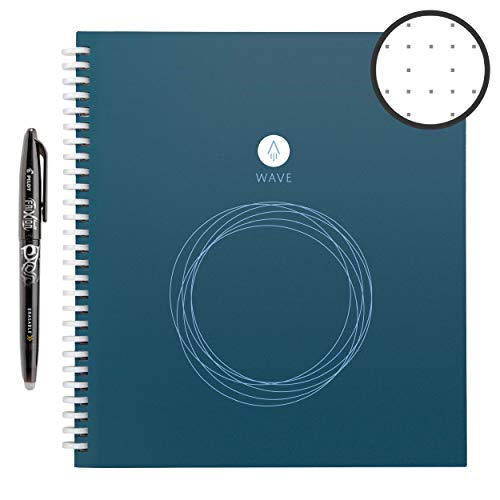 Cahier intelligent réutilisable Rocketbook Wave -Petit format (Executive)