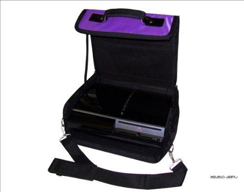 Sony Playstation 3 PS3 Morado y Negro Bolsa de Transporte para Consola/Funda. También para Uso de Coche.: Amazon.es: Electrónica