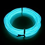 LERWAY 3M Elektrolumineszenz EL Wire Rope LED Lighting Weihnachten Licht Halloween Neujahr Party...