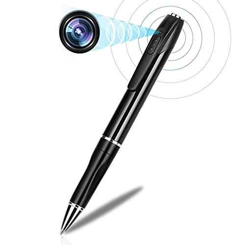 Spy Camera Pen, Hidden Camera with 150 Minutes Pen Battery Life, Mini Spy Camera with 1080P, Spy Cam with Picture Taking, Mini Camera for Classroom...