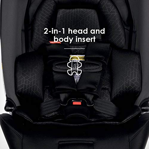 Diono Radian 3RXT, 4-in-1 Convertible Extended Rear and Forward Facing Convertible Car Seat, Steel Core, 10 Years 1 Car Seat, Ultimate Safety and Protection, Slim Design - Fits 3 Across, Gray Slate