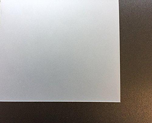 0,5 mm Evacast PP sand/matt klare PP Folie, Format 1000 x 650 mm, Polypropylen