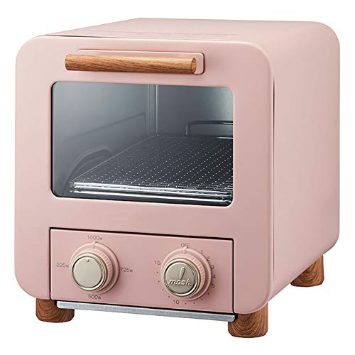 1000W Mini pan horno 8L Convección Cajón de horno, 5 Multifuncional Horno eléctrico Inicio Horneado Horneado Cocina Horno 3D Cavidad interna Tres Temperatura Control Función RECUSIRCULACIÓN 3D