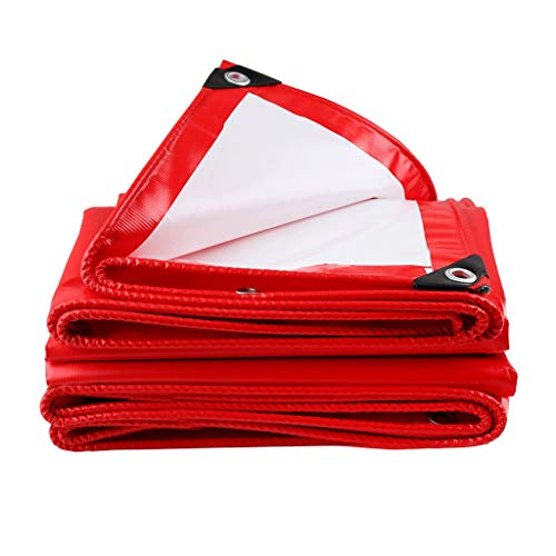 JT- Tissu Anti-Pluie Tissu d'ombrage Tissu Anti-Pluie épaissi Bâche de Protection Solaire imperméable Pluie Hangar de Voiture Pare-Soleil extérieur Durable (Size : 3m*4m)