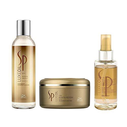 Wella SP Luxe Oil SET Shampoo 200ml + Keratin Restore Mask 150ml + Luxe Oil 100ml
