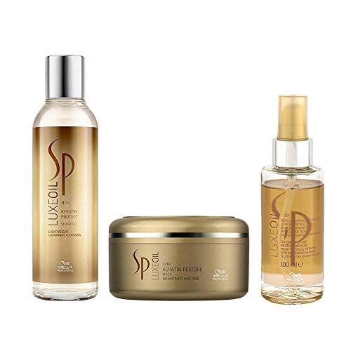 Wella SP Luxe Oil SET Shampoo 200ml + Keratin Restore Mask 150ml + Luxe Oil 100ml