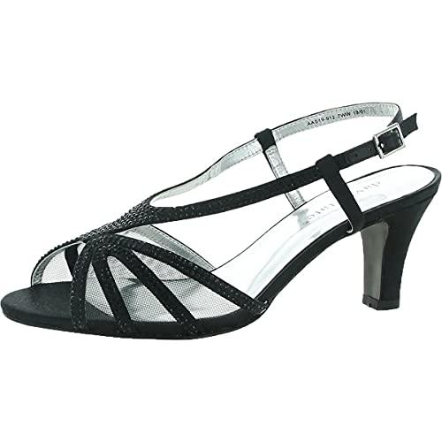 David Tate Refined Women's Sandal 8.5 E US Black