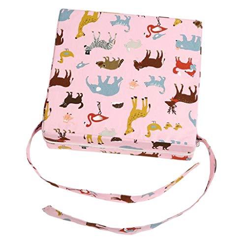 joyMerit Faux Leather Children Kids Dining Chair Booster Cushion Asientos De Bebé Owl - 2