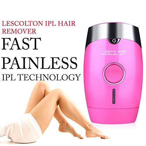 Appareil d'épilation permanente pour femmes et hommes Épilateur IPL 300 000 Impulsions Face Corps Bikini Ligne Aisselle indolore Remover Hair Light Professional