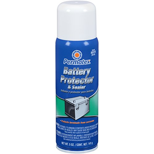 Permatex 80370 Battery Protector and Sealer, 5 oz. net Aerosol Can