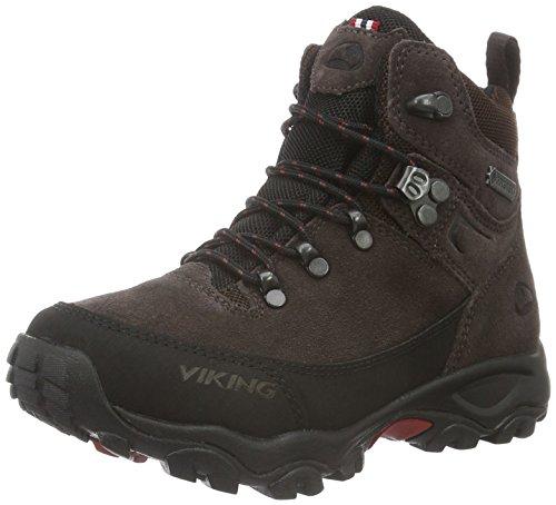 viking RONDANE JR. GTX, Unisex-Kinder Trekking- & Wanderstiefel, Braun (Dark Brown/Black), 37 EU (4 UK)