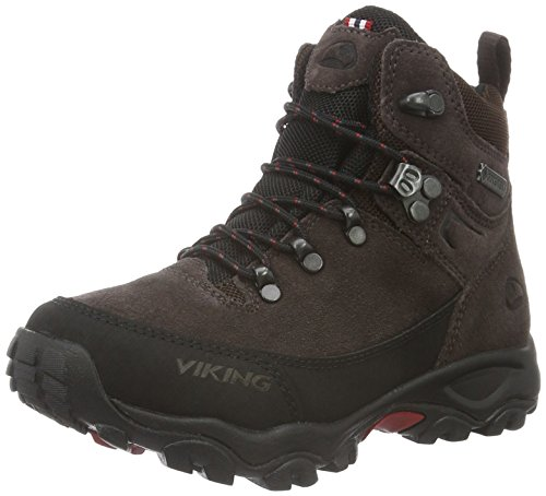 Viking Rondane Jr. Trekking- & Wanderstiefel, Braun (Dark Brown/Black 1802), 37 EU