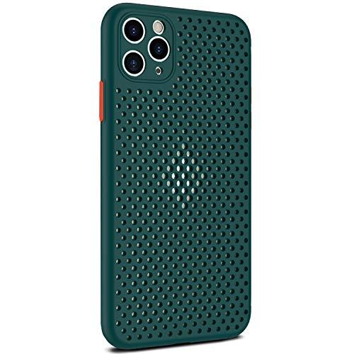 Funda iPhone 11/11 Pro/11 Pro MAX Silicona TPU Carcasa Suave Vistoso Respiraderos Proteccion Estuche Multicolor Caja Delgado Anti Choques Caso para iPhone 11/11 Pro/11 Pro MAX (11 Pro MAX, 7)