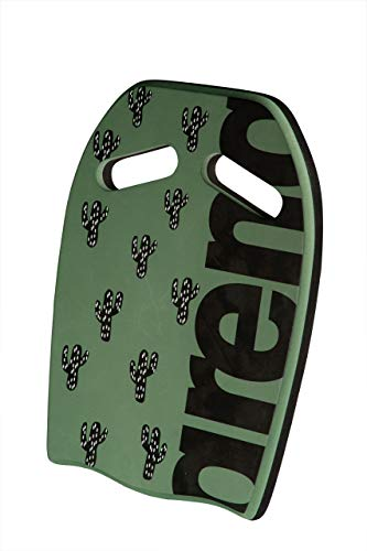 ARENA Unisex – Erwachsene Schwimmbrett Kickboard Printed, Cactus, one Size
