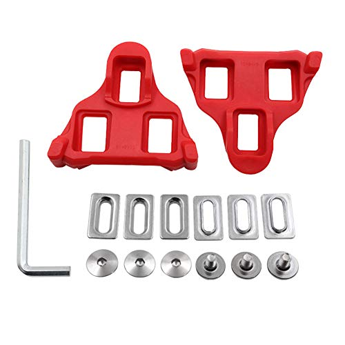Fiets Pedaal Cleat Set Multiplex Groep 6 Graden Bike Cleats Accessoires met Nylon Lock voor Speciale Road Bike Locking Plate Mountain