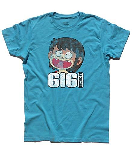 3stylershop Men's t-Shirt Gigi la Trottola - Cartoni Anni 80