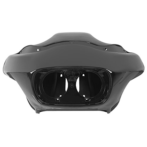 Black Motorcycle Inner&Outer Fairing Compatible with Harley Davidson Touring Road Glide FLTR 1998-2013