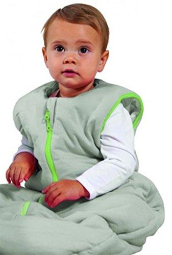 Baby Studio My First Sac de couchage réversible (de 0 à 6 mois, kiss-n-hugs, chaux)