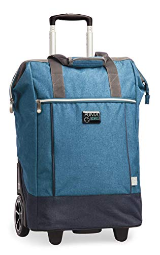 Punta Shopping Roller, California-blau, 38x62x28cm