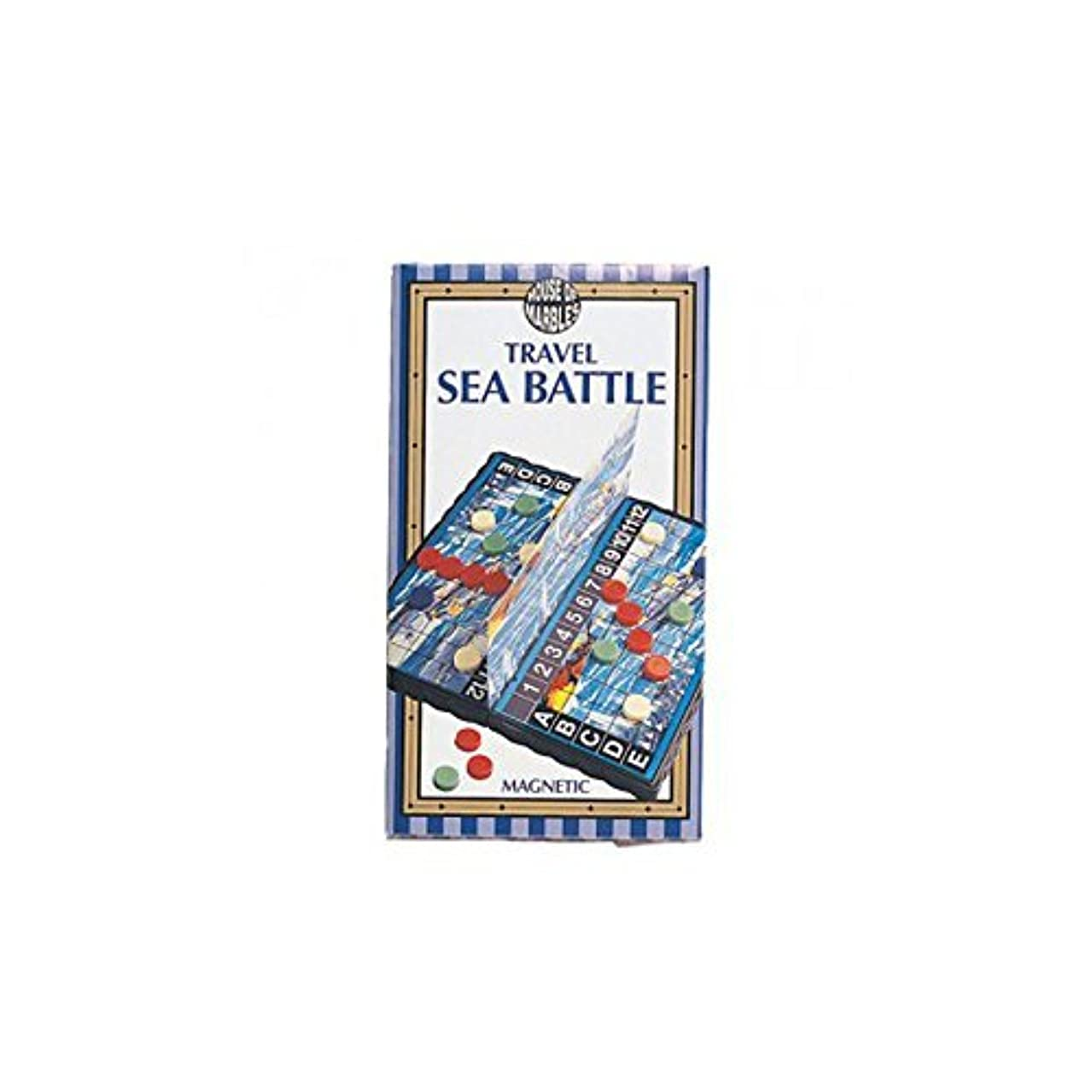 Magnetic Sea Battle Game by House of Marbles