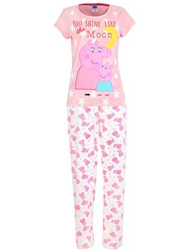 Peppa Pig MutterschweZollen Pyjama für Damen Mittel Mehrfarbig