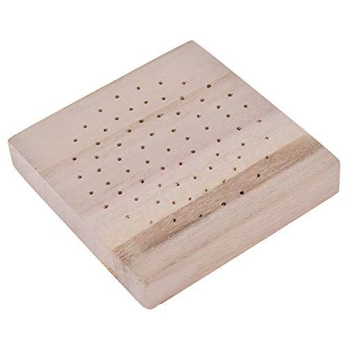 Beiswin Tonfigur Trockengestell für Kiefernholz Einlage Trockene Farbe Weicher Ton Ultraleichtes Schleimpapier Boden Schmutz Puppe Draht Skelett Holzboden (Stil 2)