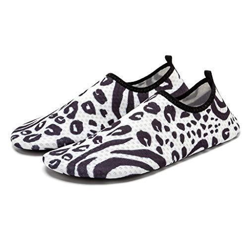 BURFLY Damen Herren Mode Casual Schuhe Unisex Paar Strandschuhe Badeschuhe Wasserschuhe Barfuß Quick Dry Schuhe Strand Schnorchelschuhe Tauchschuhe Schwimmschuhe Sportschuhe