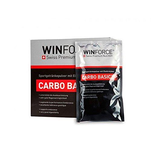 Bebida Energética Carbo Basic Plus Winforce 10 Monodosis x 60g Limón