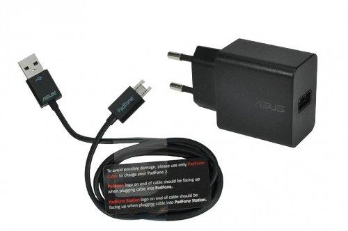 Netzteil 10 Watt - schwarz - EU 90AT0021-P000F0 für Asus Fonepad (ME371MG) / MeMo Pad FHD 10 LTE (ME302KL), Pad Smart 10 (ME301T) / PadFone 2 (A68), 2 (P03) Station, E (A68M) / VivoTab Note 8 (M80TA), Smart (ME400C)