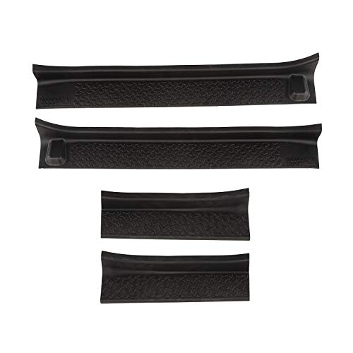 Rugged Ridge 11216.32 Black Entry Guard, 4 Pack for 18-20 Jeep JL & 2020 JT
