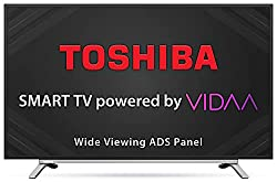 TOSHIBA 80 cm (32 inches) Vidaa OS Series HD Ready Smart ADS LED TV 32L5050 (Black) (2020 Model),Hisense,32L5050