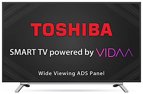 TOSHIBA 80 cm (32 inches) Vidaa OS Series HD Ready Smart ADS LED TV 32L5050 (Black) (2020 Model)