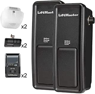 Two LiftMaster 3800 Residential Jackshaft Garage Door Opener (Upgraded to the LiftMaster 8500)