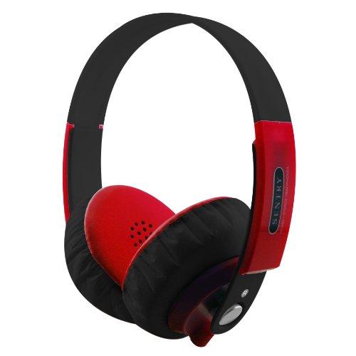 Sentry Industries Inc. HO869 FatBoys Digital Headphones, Red