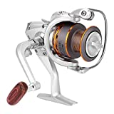 Spinning Reels ,Metal Heavy Duty Lightweight Freshwater and Saltwater Spinning Fishing Reel DX Series Fishing Reel(DX1000)