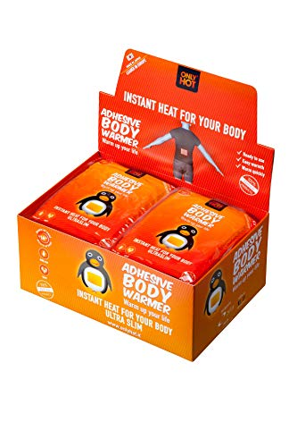 40 OnlyHot Bodywärmer Wärmepad Körperwärme für 12 Std. Aktivkohle
