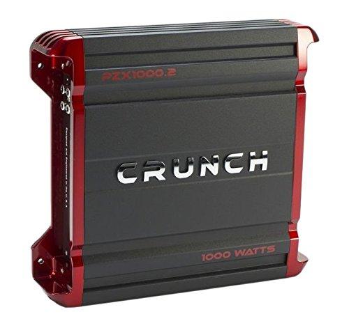 Crunch PX1000.2 Power Amplifier Class AB 2-Channels, 1000W