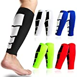 FITTOO Calf Compression Sleeve Leg Muscle Protection Shin Guard Leg Brace For Running Football Basketball Sports Support