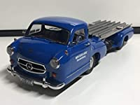 iscale 1/18 Mercedes Benz Race Car Transporter Blue Wonder メルセデスベンツ トランスポーター