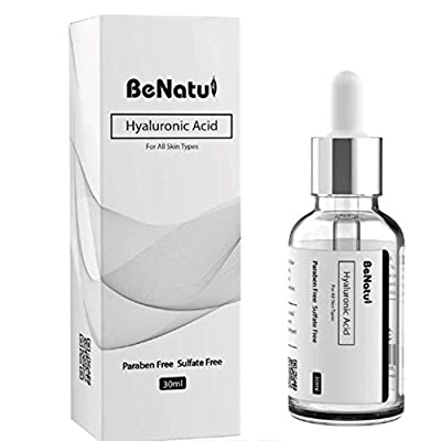 ANTI AGING SERUM, PURE Hyaluronic Acid Clinically Proven,TREATMENT for ACNE Scars, Anti Wrinkle Face Serum, also boost Collagen production and decrease Fine Lines & Wrinkles