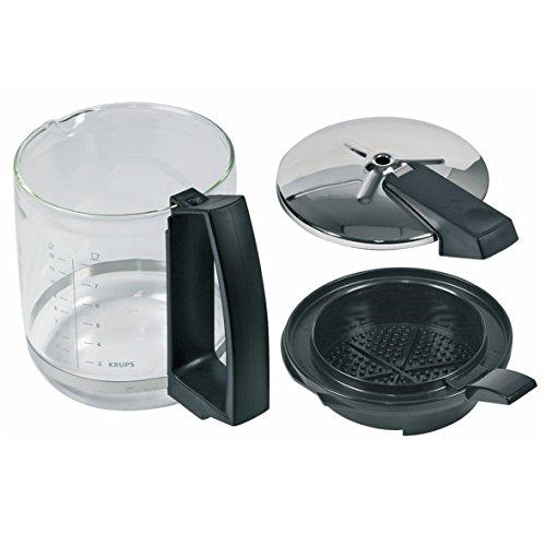 Krups F0464210F ORIGINAL Glaskanne Glaskrug Deckel Kaffeekanne Kanne T8 Kaffeemaschine