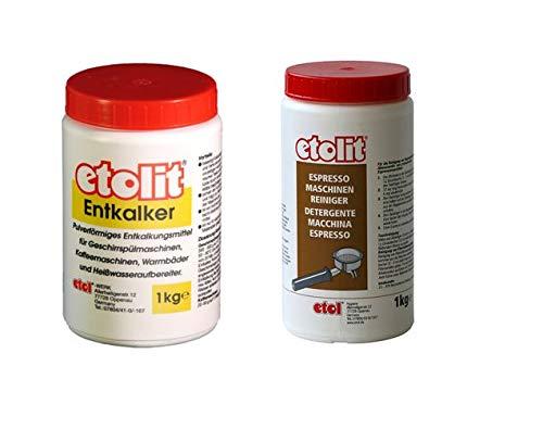 Etolit Enktalker Pulver 1 Kg und Gruppenreiniger 1 Kg Sparset Bundle