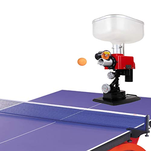 Buy Bargain LiChenYao Table Tennis Robot with Net Ping Pong Ball Machine Automatic Table Tennis Mach...