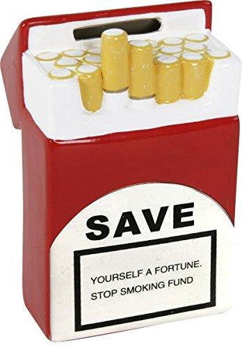 Spardose,Sparschwein,Sparbüchse Zigarettenschachtel...die Nichtraucherspardose