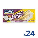Goya Galletas Wafer Coco - Paquete de 24 unidades