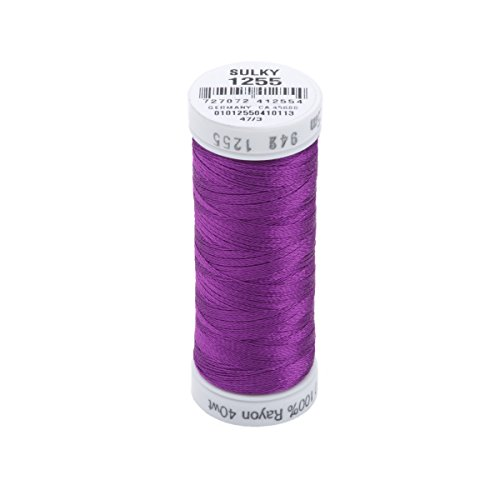 Sulky Rayon Thread for Sewing, 250-Yard, Deep Orchid