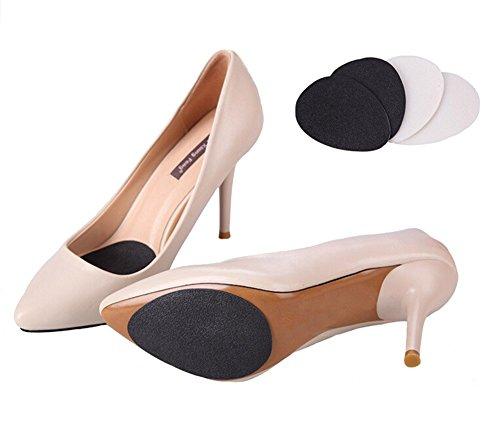 Tapis de chaussures antidérapants Tapis résistant antidérapant au talon Coussinets à talons Coussin adhésif en caoutchouc autocollant (2 paires)