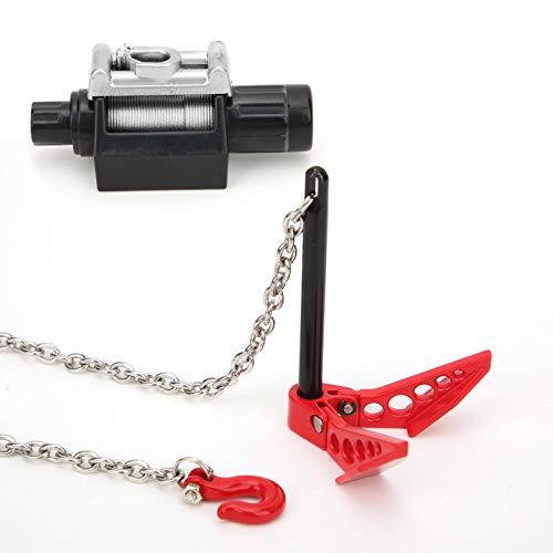 Accesorio RC Herramientas de decoración de Coches RC 7Pcs Pantalla de lámpara de cabrestante para Coche RC con Mano de Obra Exquisita