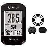 BRYTON(ブライトン) GPSサイクルコンピューター Rider420C ケイデンスセンサー付