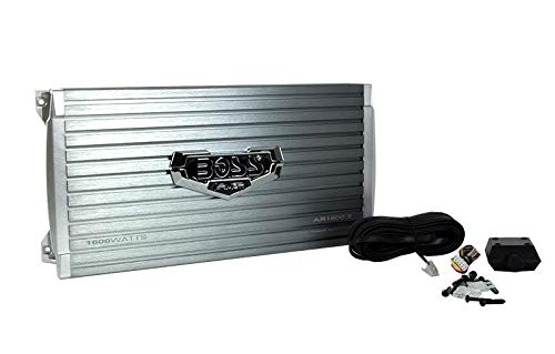 BOSS AR1600.2 1600W 2-Channel Car Audio Amplifier Power Amp + Remote AR16002